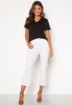 Happy Holly Maja high waist jeans White Bubbleroom.fi