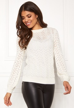 Happy Holly Malinda sweater Light beige Bubbleroom.fi