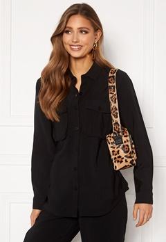 Happy Holly Maria shirt jacket Black Bubbleroom.fi