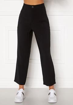 Happy Holly Maria straight leg pants Black Bubbleroom.fi