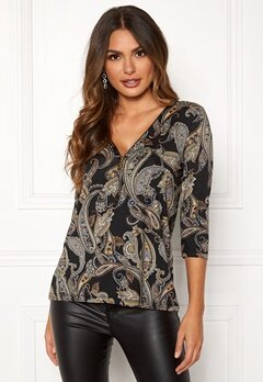 Happy Holly Marion top Patterned / Paisley Bubbleroom.fi