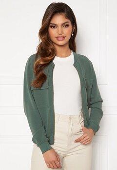Happy Holly Maya pocket jacket Dusty green Bubbleroom.fi