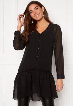 Happy Holly Maya woven tunic Black Bubbleroom.fi