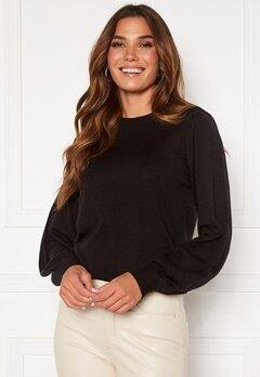 Happy Holly Melina sweater Black Bubbleroom.fi