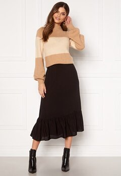 Happy Holly Melony skirt Black Bubbleroom.fi