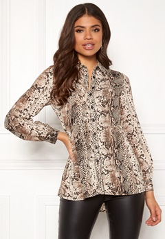 Happy Holly Mia blouse Animal print Bubbleroom.fi