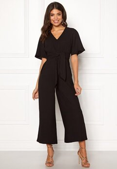 Happy Holly Michelle Jumpsuit Black Bubbleroom.fi