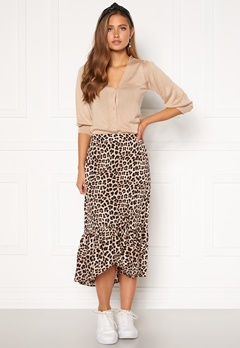 Happy Holly Michelle skirt Leopard Bubbleroom.fi