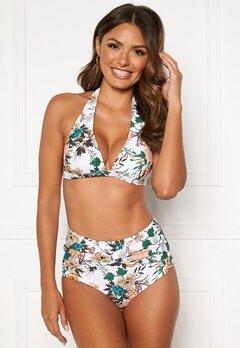 Happy Holly Mila bikini briefs White / Floral Bubbleroom.fi