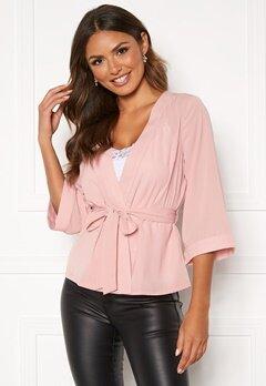 Happy Holly Milla kimono blouse Pink Bubbleroom.fi