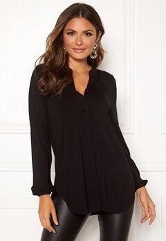 Happy Holly Milly tunic Black Bubbleroom.fi