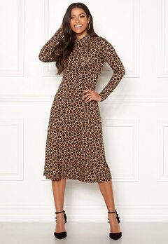 Happy Holly Miriana dress Leopard / Patterned Bubbleroom.fi