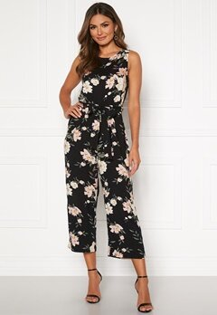 Happy Holly Mollie jumpsuit Black / Patterned Bubbleroom.fi