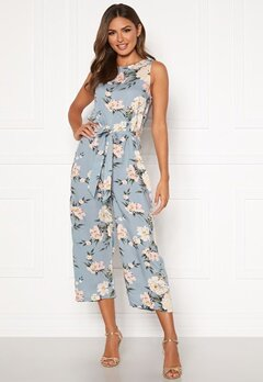 Happy Holly Mollie jumpsuit Light blue / Patterned Bubbleroom.fi