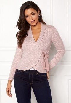 Happy Holly Mona cardigan Light pink Bubbleroom.fi