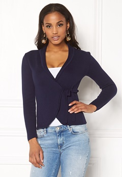 Happy Holly Mona cardigan Navy Bubbleroom.fi