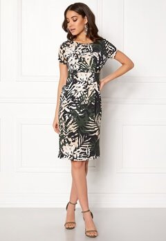 Happy Holly Nadia dress Black / Patterned Bubbleroom.fi