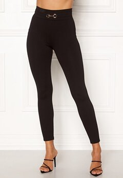 Happy Holly Naila push-up leggings Black Bubbleroom.fi