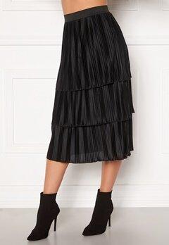 Happy Holly Naomi pleated skirt Black Bubbleroom.fi