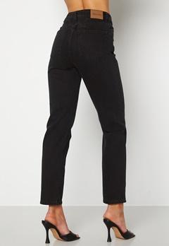 Happy Holly Natalie straight leg jeans Black denim Bubbleroom.fi