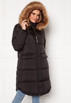 Happy Holly Patricia padded jacket Black Bubbleroom.fi
