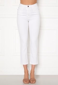 Happy Holly Peggy straight leg jeans White Bubbleroom.fi