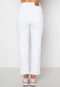 Happy Holly Peggy straight leg jeans White bubbleroom.fi