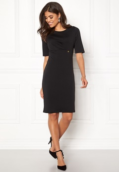 Happy Holly Peyton dress Black Bubbleroom.fi