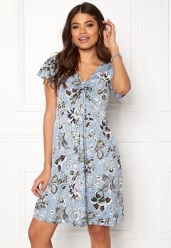 Happy Holly Reanna dress Medium blue / Patterned Bubbleroom.fi