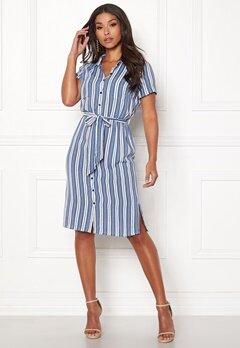 Happy Holly Ronja shirt dress Striped Bubbleroom.fi