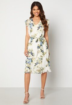 Happy Holly Sally dress White / Floral Bubbleroom.fi