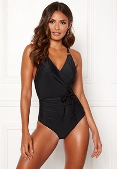 Happy Holly Salma swimsuit Black Bubbleroom.fi