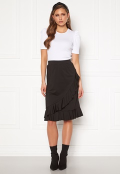 Happy Holly Sandy frill skirt  Black Bubbleroom.fi
