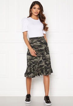 Happy Holly Sandy frill skirt  Camouflage Bubbleroom.fi