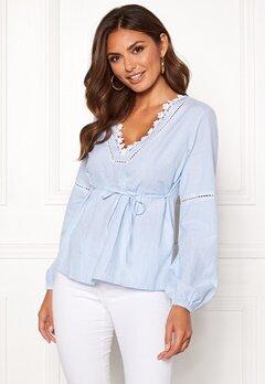 Happy Holly Sanna blouse Striped Bubbleroom.fi
