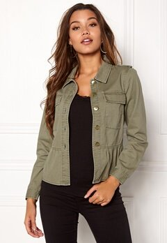 Happy Holly Sanne jacket Khaki green Bubbleroom.fi