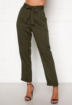Happy Holly Sarah utility pants Khaki green Bubbleroom.fi