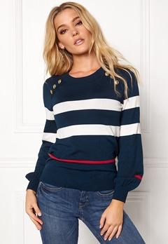 Happy Holly Sasha sweater Dark navy Bubbleroom.fi
