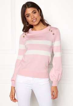 Happy Holly Sasha sweater Pink Bubbleroom.fi