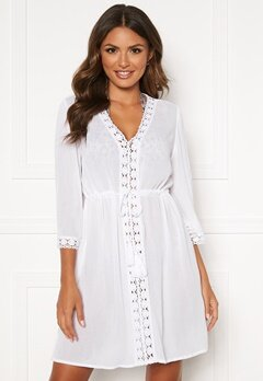 Happy Holly Sienna beach tunic White Bubbleroom.fi