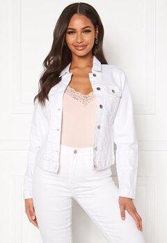 Happy Holly Skyler denim jacket White Bubbleroom.fi