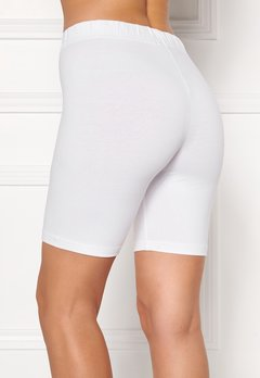 Happy Holly Sofia short leggings White Bubbleroom.fi