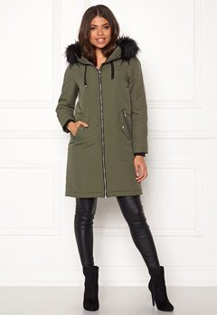 Happy Holly Stephanie Jacket Khaki green Bubbleroom.fi