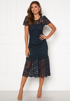 Happy Holly Taylor occasion lace dress Dark blue Bubbleroom.fi