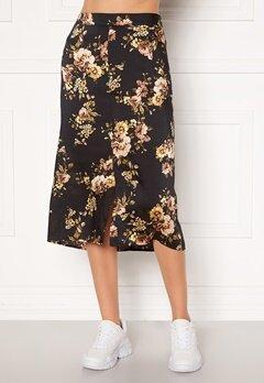 Happy Holly Teresa skirt Black / Patterned Bubbleroom.fi