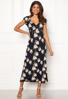 Happy Holly Tessie maxi dress Dark blue Bubbleroom.fi