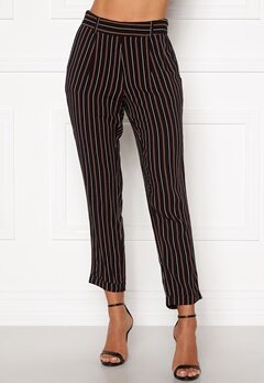 Happy Holly Thea pants Black / Striped bubbleroom.fi