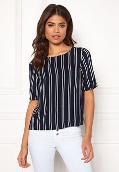 Happy Holly Thea woven top Striped Bubbleroom.fi