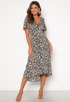 Happy Holly Therese occasion dress Blue / Patterned Bubbleroom.fi