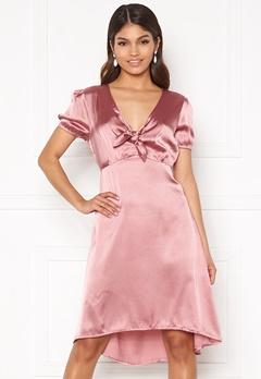 Happy Holly Therese Shiny Dress Lavender Bubbleroom.fi